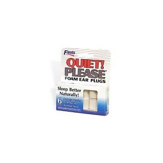Flents Quiet! Please - Foam Ear Plugs - 6 pr
