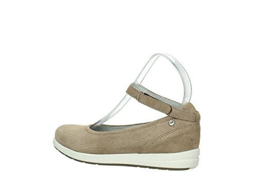 Wolky Comfort Ballerinas Magnetic 20150 taupe Leder