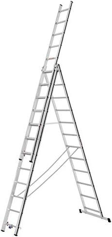 HYMER ALU-PRO 7004736 Escalera multifunción: Amazon.es: Bricolaje y herramientas