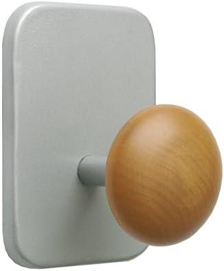 Porte manteaux magn/étique bois 8x11,5x7,5 cm Alba