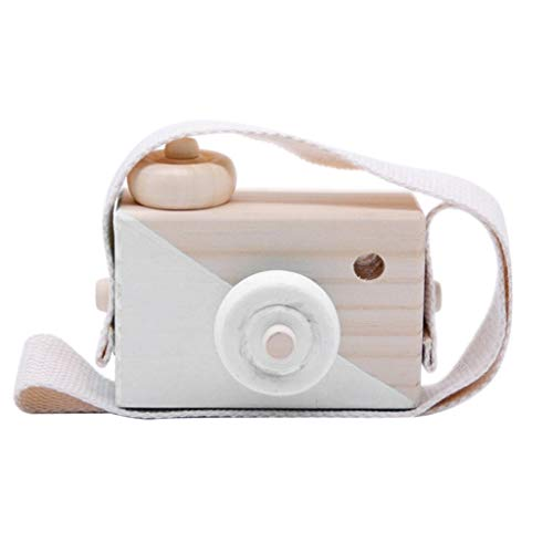 Meka-supplies - Cute Nordic Hanging Wooden Camera Room Decor Items for Baby Birthday Gifts Wooden New Arrival ping
