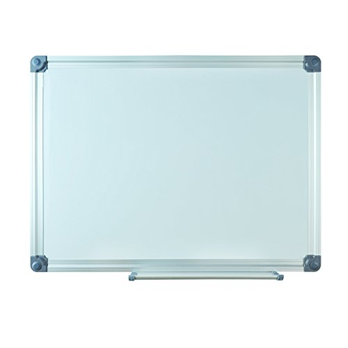 Lockways Magnetic Dry Erase Board - 15 x 12 inch, Whiteboard Sliver Aluminium Frame for Office & School