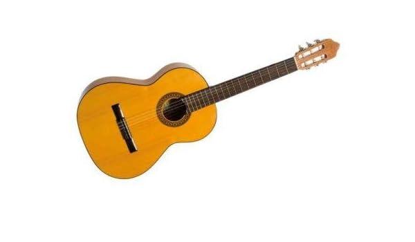 Azahar 130 español Classic Flamenco Guitarra, amarillo: Amazon.es ...