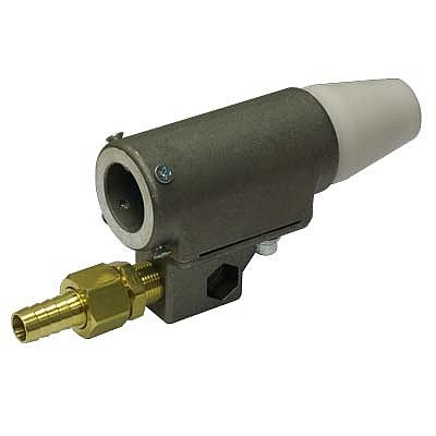 Sand Blast Gun, Automatic Suction, 7/16'' Boron Nozzle, W/Nylon Adaptor, W 7/32'' Air Jet