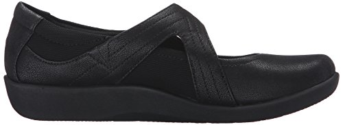 Sillian Synthetic Shoes Clarks Bella Women's Black 5wqnUzX