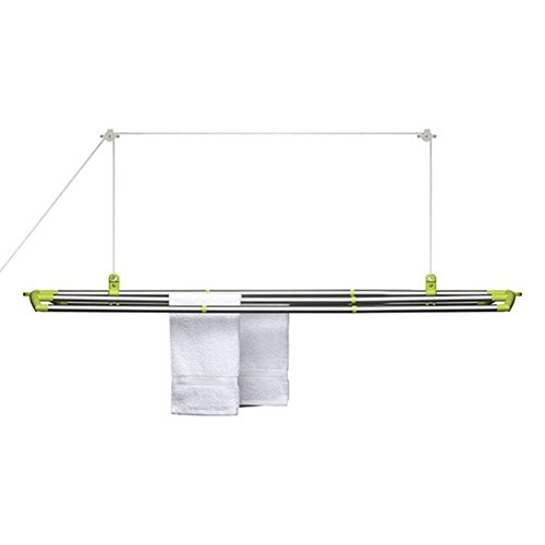 loftitm laundry drying rack color lime green