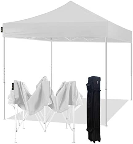 AMERICAN PHOENIX Canopy Tent 10×10 Easy Pop Up Instant Portable Event Commercial Fair Shelter Wedding Party Tent 10×10