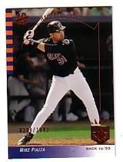 2003 SP Authentic Baseball Card #137 Mike Piazza Near ()