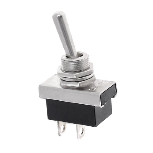 uxcell Auto Car SPST ON-OFF Type Toggle Switch DC 12V 25A