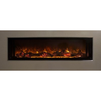 electric fireplace glass - 5