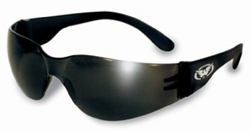 Global Vision Eyewear Rider Safety Glasses, Super Dark Lens, Outdoor Stuffs