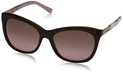 Michael Kors ADELAIDE II MK2020 Sunglasses 311714-56 - Dk Brown Pink Marble ()