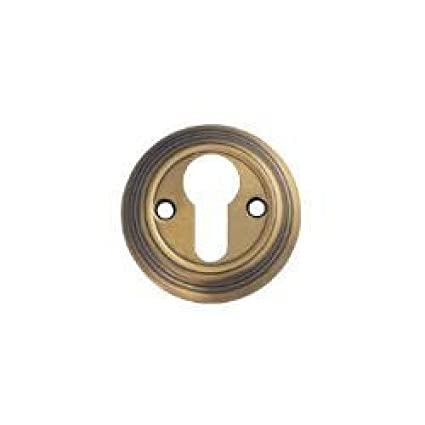 Embellecedor para cerradura - - acabado bronce florentino