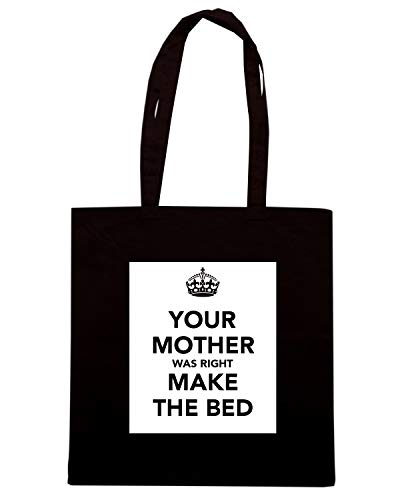 KEEP RIGHT WAS BED CALM THE Nera AND TKC4218 MOTHER Borsa YOUR Shopper MAKE qzBw8t