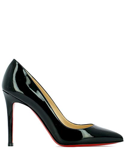Christian Louboutin Women's 3080680Bk01 Black Leather Pumps