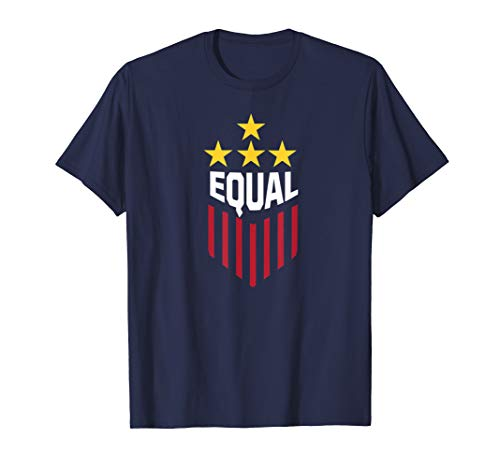 - Equal Play Equal Pay USA Gender Equality Ladies Soccer Team T-Shirt