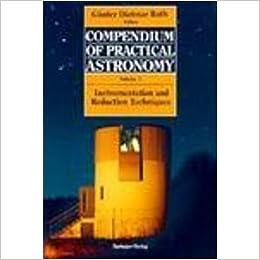 Book Compendium of Practical Astronomy: 001