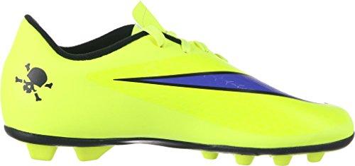Nike JR Hypervenom Phade FG-R Kinder Fussballschuhe volt-persian violet-hot lava-black - 36