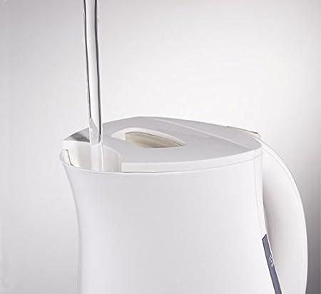 Tefal BF512011 1.2L 2400W Blanco - Tetera eléctrica (1,2 L, Blanco, Manual, 2400 W): Amazon.es: Hogar