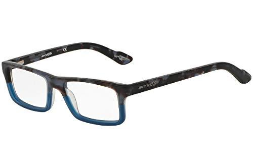 Arnette Lo-Fi AN7060 - 1176 Eyeglasses Matte Black Tortoise / Blue frame 49mm w/ Clear Demo ()