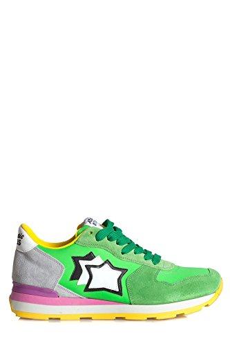 Atlantic Stars Damen VEGAVGV82F Grün Wildleder Sneakers