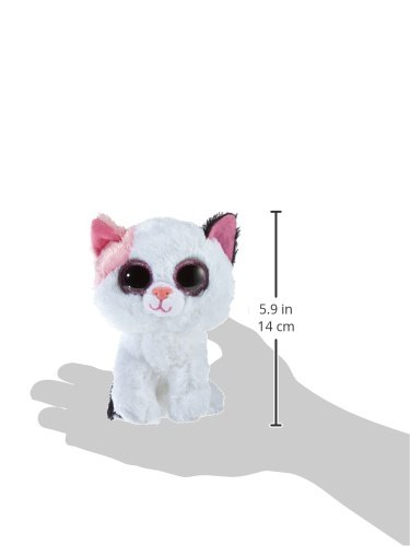 Ty - Muffin, peluche gato, 15 cm, color blanco (36086TY): Amazon.es: Juguetes y juegos