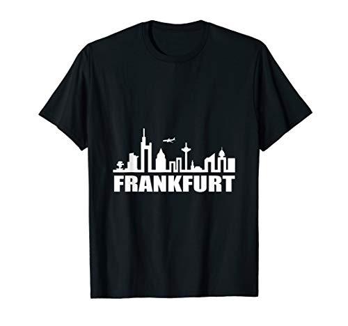 Frankfurt Germany Shirt Skyline German Souvenir T-Shirt -