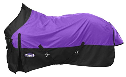 Tough 1 Premium 1200 Denier Waterproof Medium/Heavy Weight Nylon Turnout Blanket - 300g Fill (Medium Weight Turnout)
