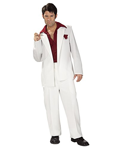 Tony Montana Costume - Standard - Chest Size 44 - Mobster Girlfriend Costumes