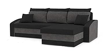 romano furniture corner sofa bed hewlet black grey amazon co uk rh amazon co uk sofa bed furniture village sofa bed furniture near me