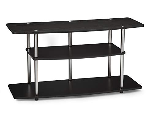 Convenience Concepts Designs2Go 3-Tier Wide TV Stand, Black (Renewed)