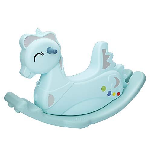 Caballo de oscilación Infantil Caballo pequeño Juguete de bebé Plástico Engrosamiento Caballo oscilante de bebé Grande...