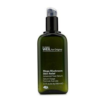 Origins Dr. Andrew Mega-Mushroom Skin Relief Advanced Face Serum, 3.4 Ounce by Origins