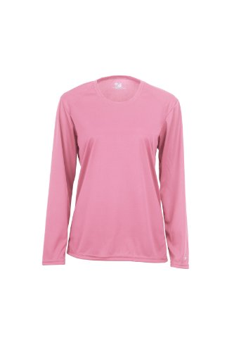 Badger Sportswear Women's B-Dry Long-Sleeve Performance T-Shirt
