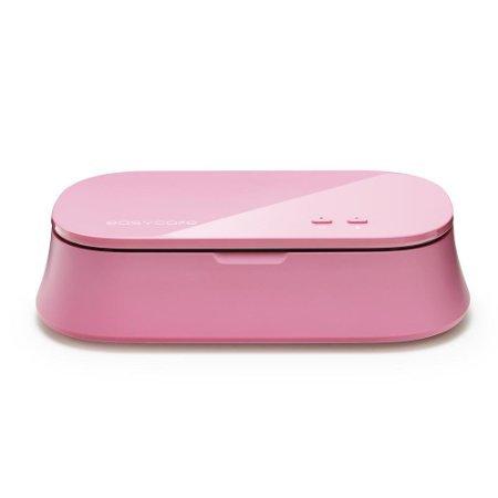 easycare® UV Light Cell Phone Sterilizer Portable Mobile Phone Disinfector Pink