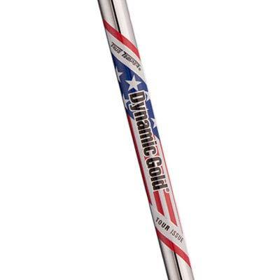 True Temper Dynamic Gold Tour Issue Ryder Cup Shaft Set, X100 X-Stiff, 3-PW