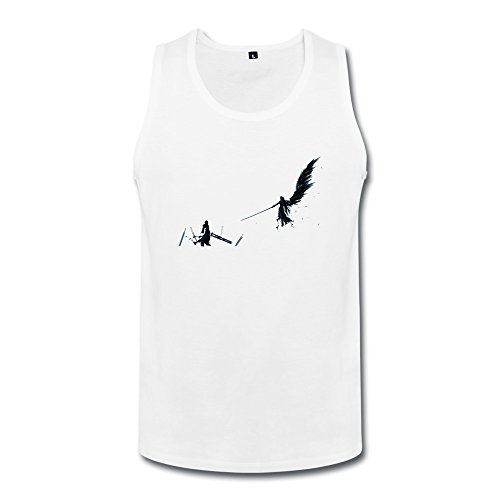 ZHENGAIMEI Mens Final Fantasy Organic Cotton Tank Top T-shirts (Final Fantasy Tactics Advance Ost compare prices)