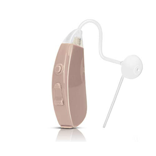 iBstone Hearing Amplifier Vive10 Digital for Adults and Seniors, Easy Operation BTE Hearing Aid to Enhance Hearing with Noise Reduction, FDA Approved Hearing Device Recommended by Audiologist ()