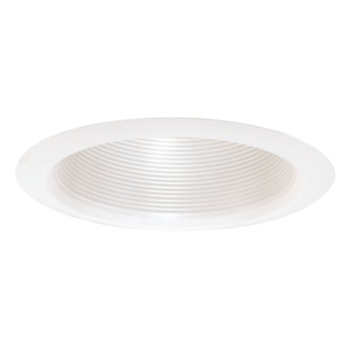 Baffle Deep Trim (Sea Gull Lighting 1158AT-14 7.25-Inch Deep Cone Baffle Recessed Light Trim)
