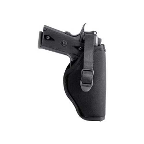 BLACKHAWK! Black Nylon Hip Holster, Size 05, Left Hand,