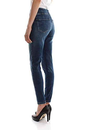 GUESS D2CN3 CURVE 29 W73A49 VAQUEROS DENIM Mujer MEDIO HIGH X qTOrB4wq