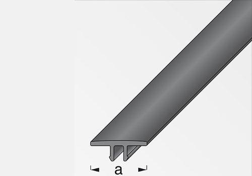 Perchero de cubierta PVC negro X profilato 27,5 - 1 m ...