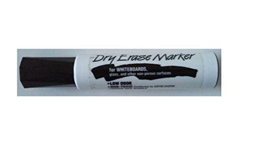 Avery Dennison 24-418 Dry Erase Marker Jumbo Size Chisel/Broad Tip Black Sold individually