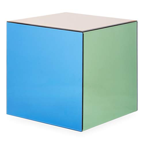 Cube Accent Table - Now House by Jonathan Adler Chroma Cube Accent Table, Multicolor