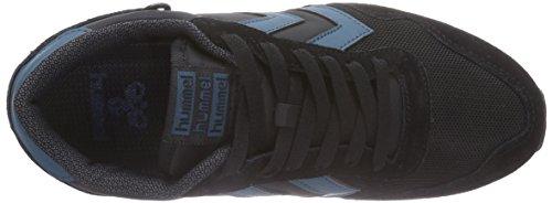 Hummel HUMMEL REFLEX LO - zapatilla deportiva de material sintético Unisex adulto negro - negro (Black 2001)