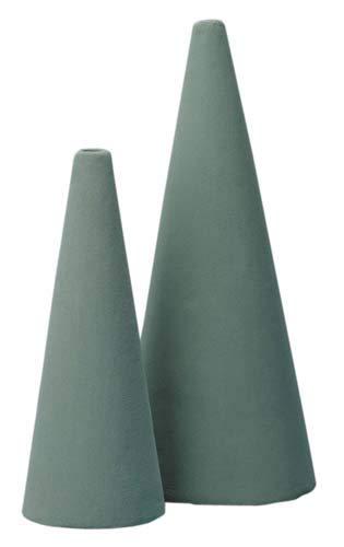 7723 12'' Oasis Floral Foam Cone 5''D x 12''H (Case of 12)