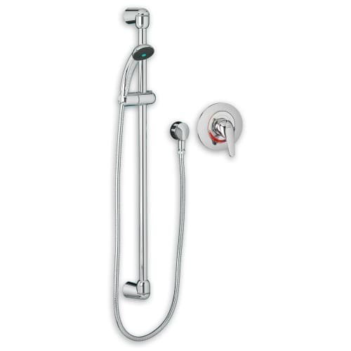American Standard Shower Set (American Standard 1662.215002 Commercial Tub and Shower System Complete Kit, Polished Chrome)