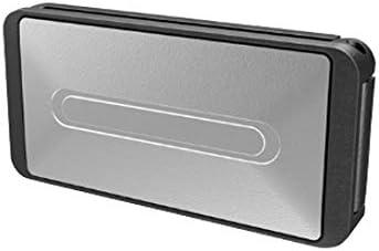 Clip//fermo di sicurezza universali per cintura nero 2 pezzi