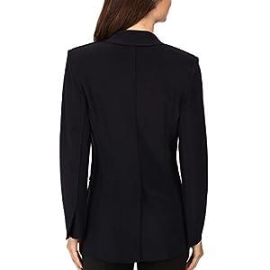 Norma Kamali - Single Breasted Jacket Bonded - Black - S