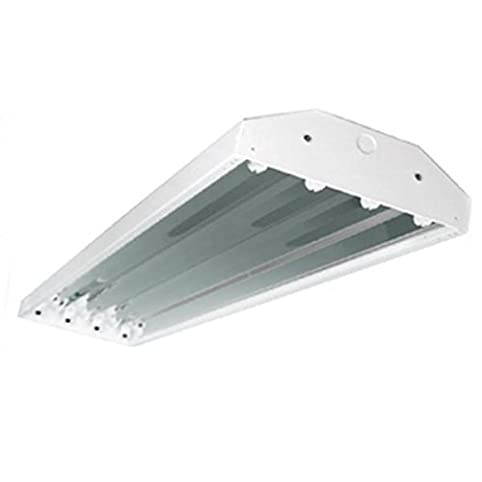 Globalux 63291 - 6 Lamp 277 volt T8 High Bay Fluorescent Light ...